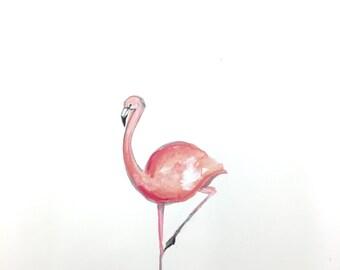 11x 15 flamingo print!