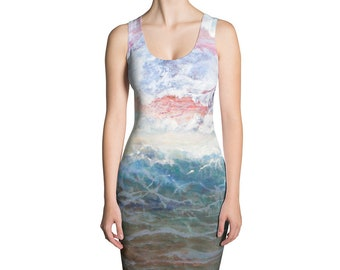 Wave of Life Simple Dress