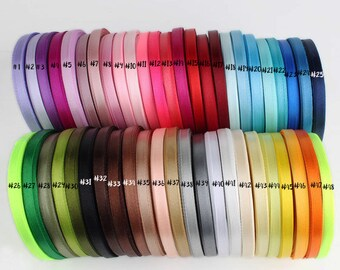 Single-face ribbon 6mm,10mm,20mm,38mm (25 yards)