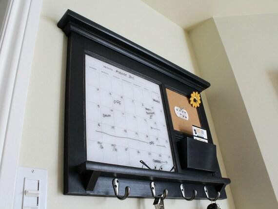 Beau Kitchen Mail Family Organizer Monthly Dry Erase Calendar