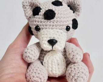 PDF Pattern altErMuligt's Baby Leopard approximately 9 cm