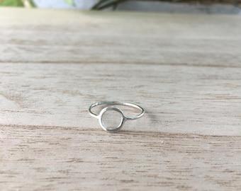 Petite Circle Ring