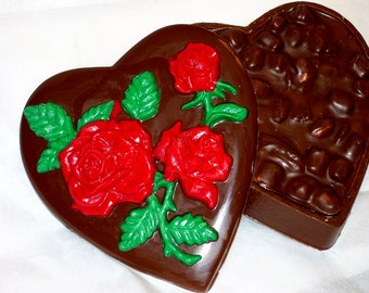 Hearts and Roses Chocolate  Box