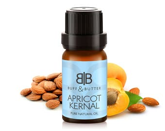 Apricot Kernel Carrier Oil 100% Pure Natural Fragrance Aromatherapy - 1ml, 10ml, 25ml, 50ml, 100ml Bottle