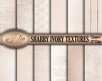 Ivory Digital Paper Linen digital paper Vintage Digital Background Shabby and Romantic Digital Paper Beige textures paper. Instant Download