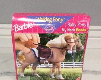 Barbie Walking Pony Baby Pony My Neck Bends never opened!