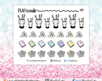 Planning time Stickers, Planner Stickers -035