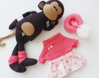Stuffed monkey toy, monkey plush doll, stuffed toys, Stuffed animals toy, unique gift, stuffed animals, soft toys