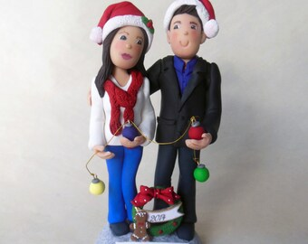 "Custom Family Christmas Topper * Deposit Required "" Check with Seller for pricing"