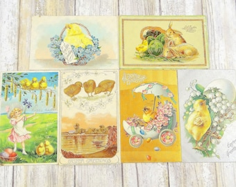 Antique Easter Postcards from the 1900s