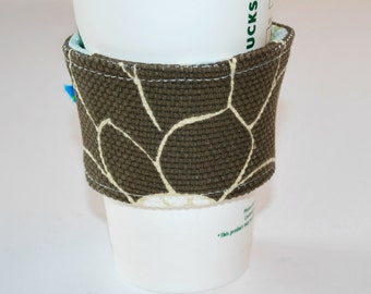 Coffee Cozy, Cup Cozies, Home and Living Cozy, Housewares Covers and Cozies, Reusable Ecofriendly Cozy, Handmade Cozies, Travel Cozy
