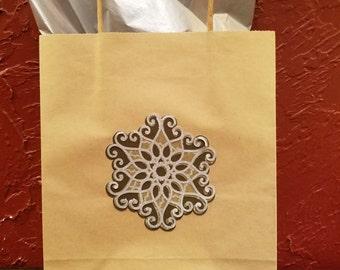 Hand made Christmas gift bag