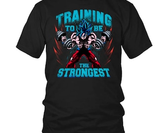 training to be the strongest