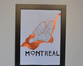 post card copper Montreal