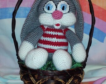 Bartholomew Bunny(Crocheted)