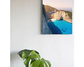 Shipwreck Zakynthos on canvas