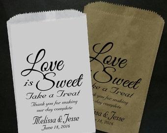 Love is Sweet Take a Treat BAG