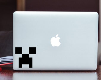 Minecraft Decal/Sticker - Creeper - Creeper Head - Decal/Sticker Choose Size and Color