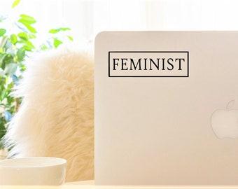 Decal {Feminist 2}-Laptop Decal/Laptop Sticker/Phone decal/Phone sticker/Car Sticker/Car Decal/Window Decal