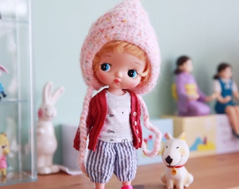 Yuan's Holala sets/handmade/outfit/overalls/doll/clothe