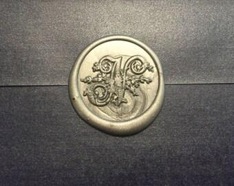 N Initials Wax seal stamp /Heypenman crossover with BlackmarketIntl/