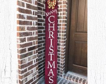 Christmas Sign, Merry Christmas Sign, Christmas Sign Wood, Rustic Christmas Decor, Christmas Decor, Porch Sign, Farmhouse Christmas Decor