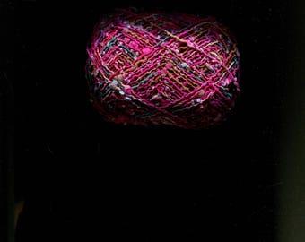 Noro Hotaru Yarn. Destashing Color No. 24B and No. 12C. New