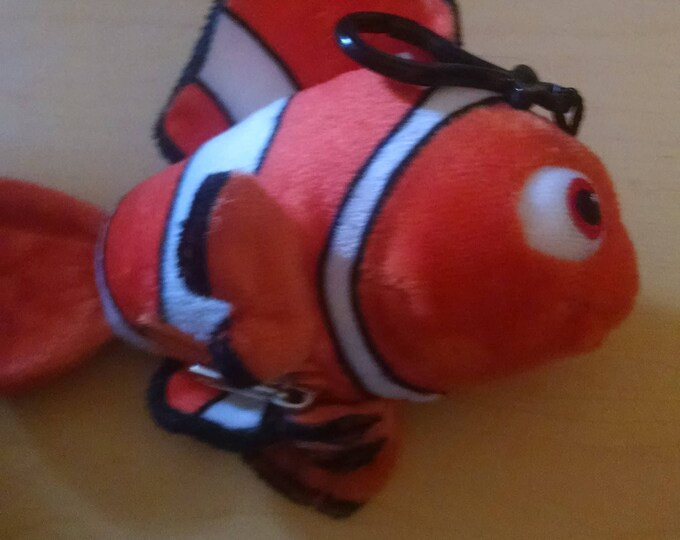 5 inch Plush Nemo Zippered Coin Purse