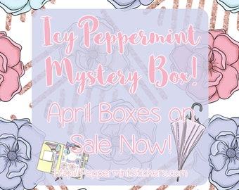 Icy Peppermint Mystery Box! LIMITED EDITION [April - Rainy Days]