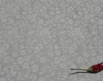 Gray jacquard linen tablecloth. Natural linen tablecloth 56 Х 120. Jacquard tablecloth. Wedding gift