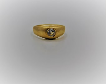 10K Yellow Gold Citrine Ring