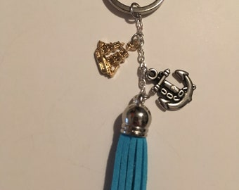 Ship and Anchor Keychain!