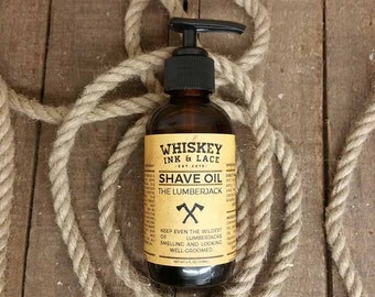 The Lumberjack Shave Oil - 4oz or 1oz - Woodsy