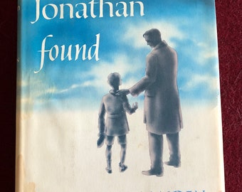 Jonathan Found by Cecil Maiden/1957/214 pages/Book Club Ed./Free SH to US/Great Condition#643