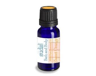 Sweet Orange Essential Oil (Citrus sinensis) - 100% Pure Essential Oil - 15 mL