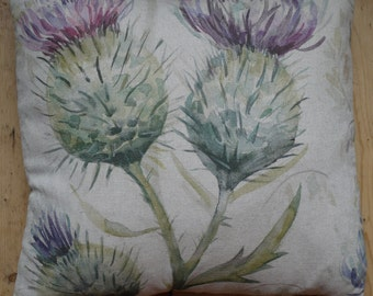 Thistle cushion cover - Spring
