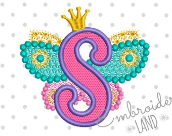 Airplane letter e applique embroidery design for boys summer fairy letter s alphabet for lil princess wings applique embroidery design monogram initials valentines day applique thecheapjerseys Gallery