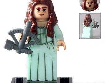 Elizabeth Swann Inspired Mini Figure Building Blocks Minifigure Pirates of the Caribbean Pirates Treasure Disney
