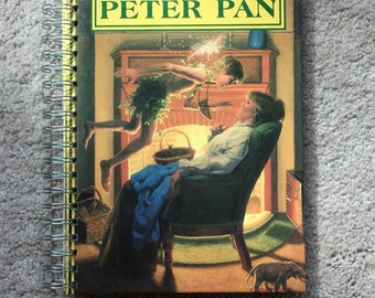 Vintage Peter Pan Book Journal