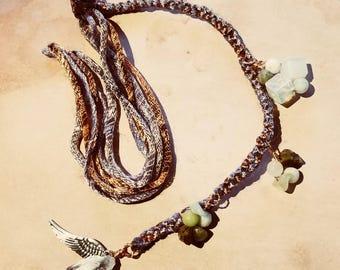 Bohemian hair clip