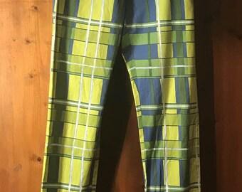 80s Printed pants - American Vintage - 1980's