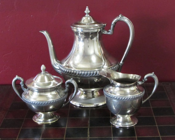 Like this item? : silver plated tea and coffee set - pezcame.com
