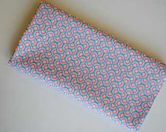 """Liberty Newbury pink and blue quilting craft cotton 112cm / 44"""" wide."""