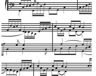 Music Notes Embossing Folder