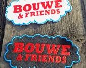 Friends name badge based ...