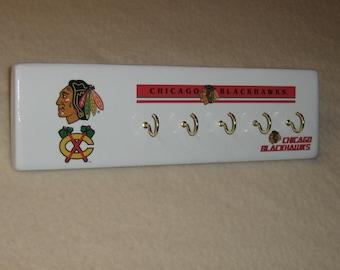 Chicago Blackhawks key rack