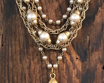 Made in the Deep South- Vintage cross necklace