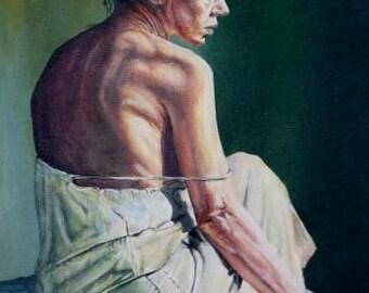 Custom painted Portraits, oils on canvas