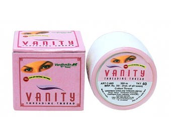 Vanity Anti-Bacterial Face & Eyebrow Threading Thread 100% Cotton Hair Removal CHOOSE QUANTITY !!!