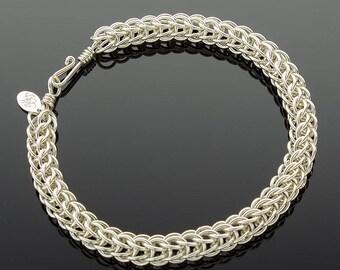 Handmade Full Persian Chainmaille Bracelet